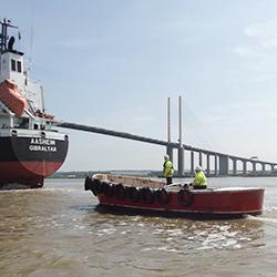 Mooring and Unmooring - Thameside Services Marine Ltd