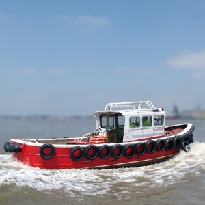 Thamesman - Cabin Workboats | Thameside Services Marine Ltd